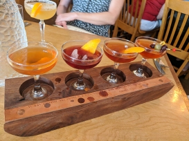 Ngon Bistro: Cocktail flight