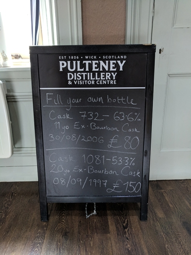 Pulteney: Fill Your Own details