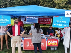 India Fest 2018: GOP booth
