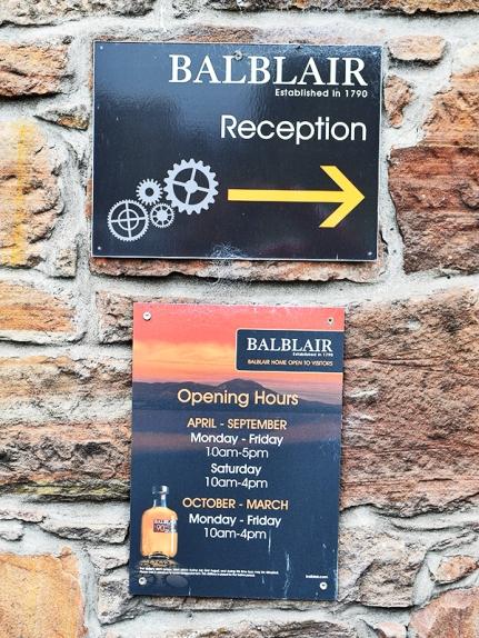 Balblair: Hours