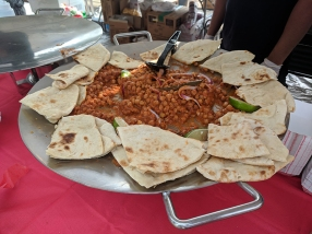 India Fest 2018: Hyderabad chhole naan