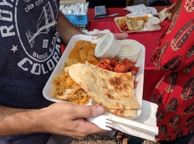 India Fest 2018: Hyderabad non-veg platter