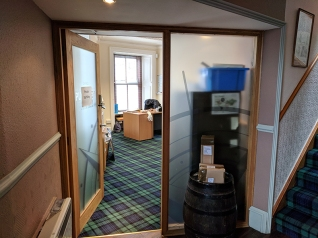 Pulteney: Manager's Office