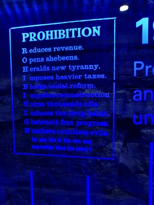 Pulteney: Prohibition bad!