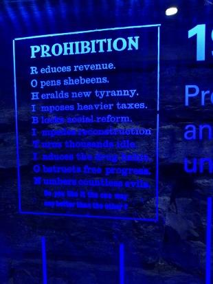 Pulteney: Prohibition bad!