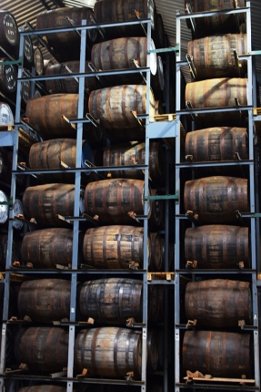 Pulteney: Racked Casks