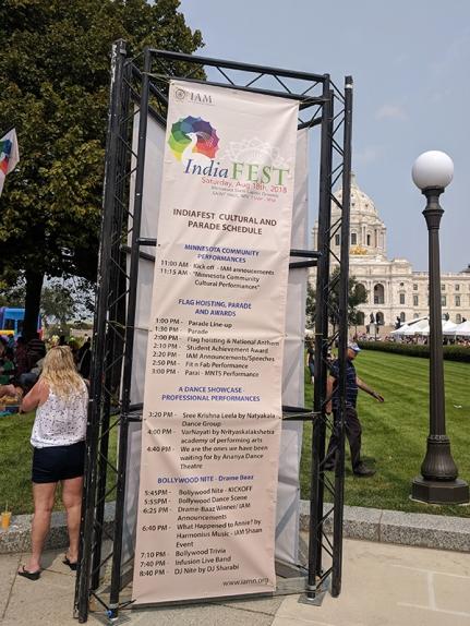 India Fest 2018: Schedule
