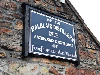 Balblair: Sign