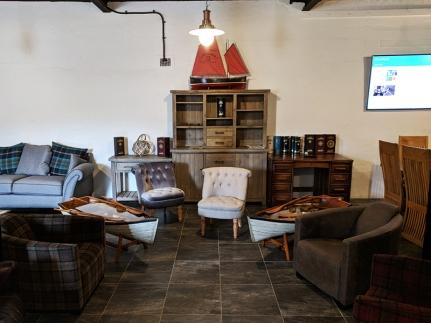 Pulteney: Tasting Room