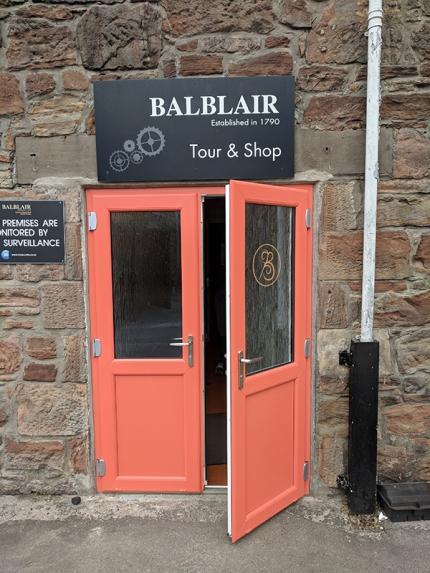 Balblair: Tour and shop