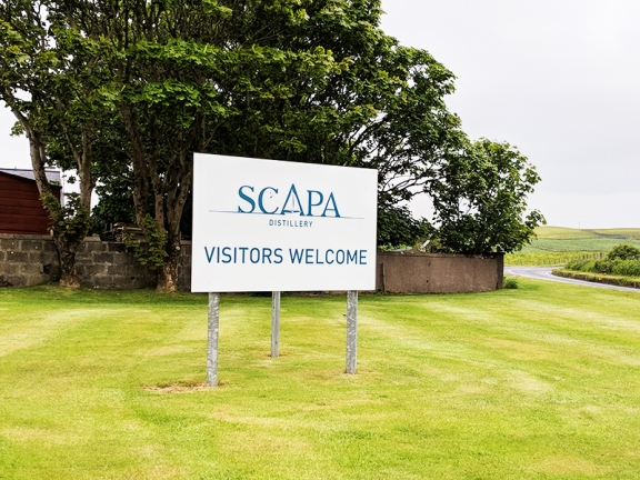 Scapa: Visitors Welcome