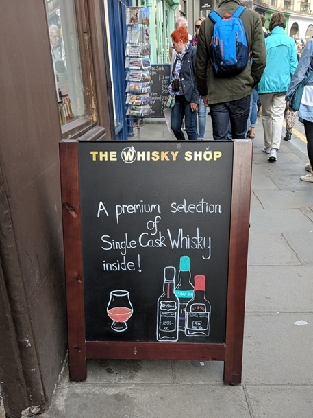 The Whisky Shop: A premium selection