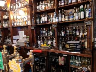 The Bow Bar: Behind the bar