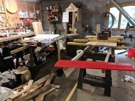 Tomatin: Cooper's workshop