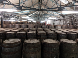 Tomatin: Empty casks