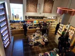 The Scotch Whisky Experience: From the second floor