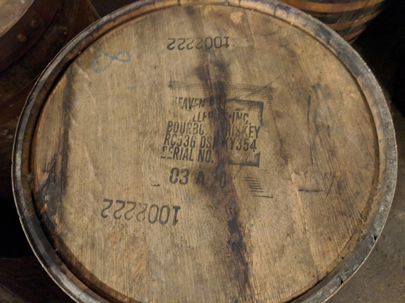 Tomatin: Heaven Hill barrel