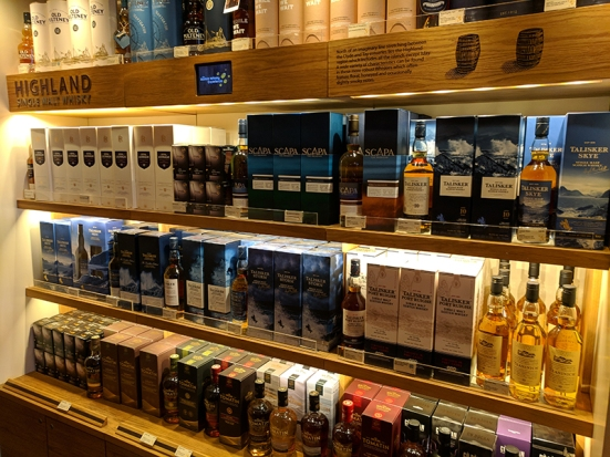 The Scotch Whisky Experience: More Highland whiskies