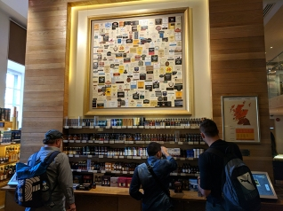 The Scotch Whisky Experience: Labels and minis
