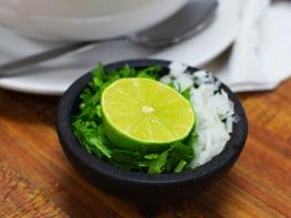 Homi: Toppings for the mole de olla