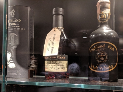 Highland Park: Older bottles
