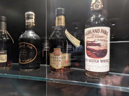 Highland Park: Older bottles
