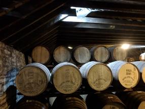 Highland Park: Dunnage warehouse casks