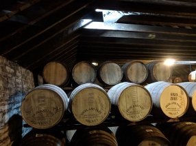 Highland Park: Dunnage warehouse casks