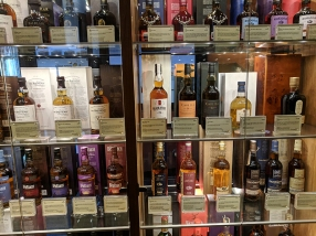 The Scotch Whisky Experience: Various whiskies