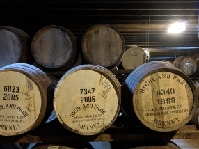 Highland Park: Warehouse casks