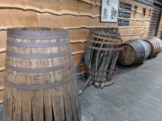 Not sure if they actually do any coopering at the distillery.