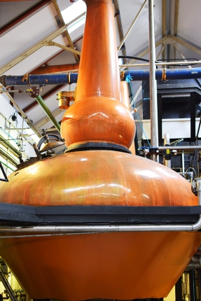 Tomatin: Wash still, close-up