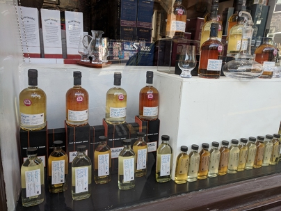 The Whisky Shop: Window