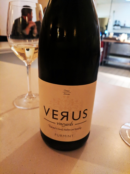 A bright Slovenian white from the Furmint grape