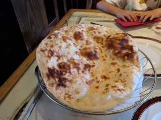 Mother India Cafe: Pitta bread