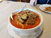 Peninsula: Beef Brisket Curry Noodle Soup