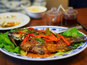 Thai Cafe: Curry Fried Fish