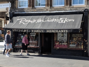 Royal Mile Whiskies: Less dramatic