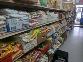 Viet Hoa Lao Market: Flour etc
