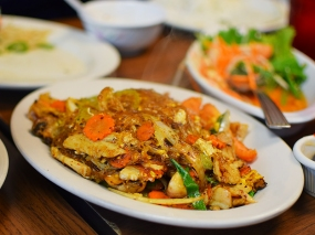 Thai Cafe: Fried Glass Noodles
