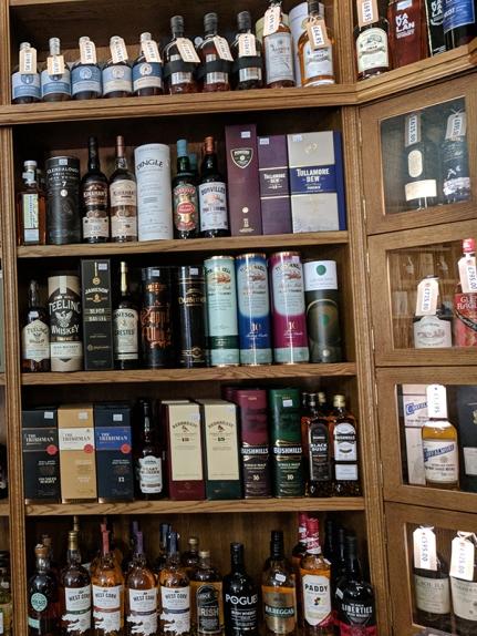 Royal Mile Whiskies: Irish whiskey