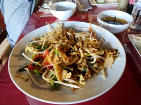 As is their drunken noodles.