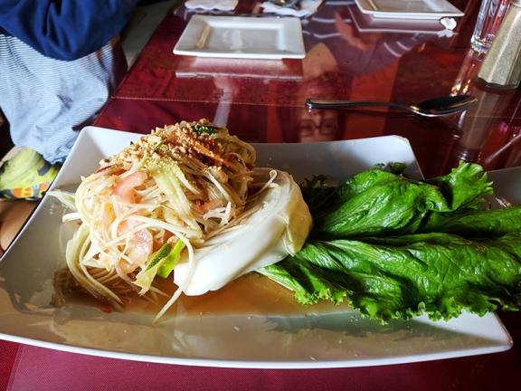 Thai Garden is #5 on our Thai list. Their som tum is very good.