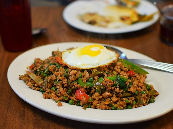 Thai Cafe: Spicy Pad Ka Pao