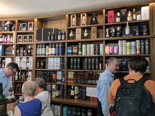 Royal Mile Whiskies: With Customers