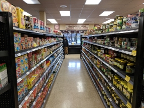 Holy Land: The main grocery store is right ahead