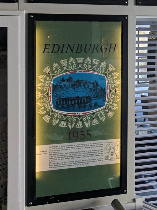 Khushi's: Edinburgh 1955