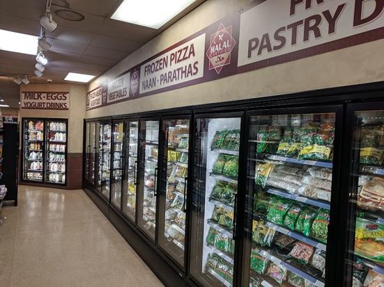Holy Land: Freezer section