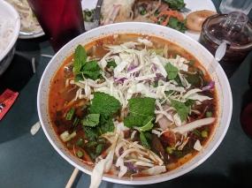 Tay Ho: Garnished Bun Bo Hue