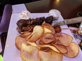 Ansari's: Greek Chips